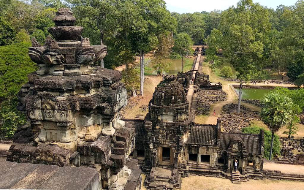 Ruinen in Angkor Thom