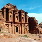 Monastery Ad-Deir in Petra, Jordan