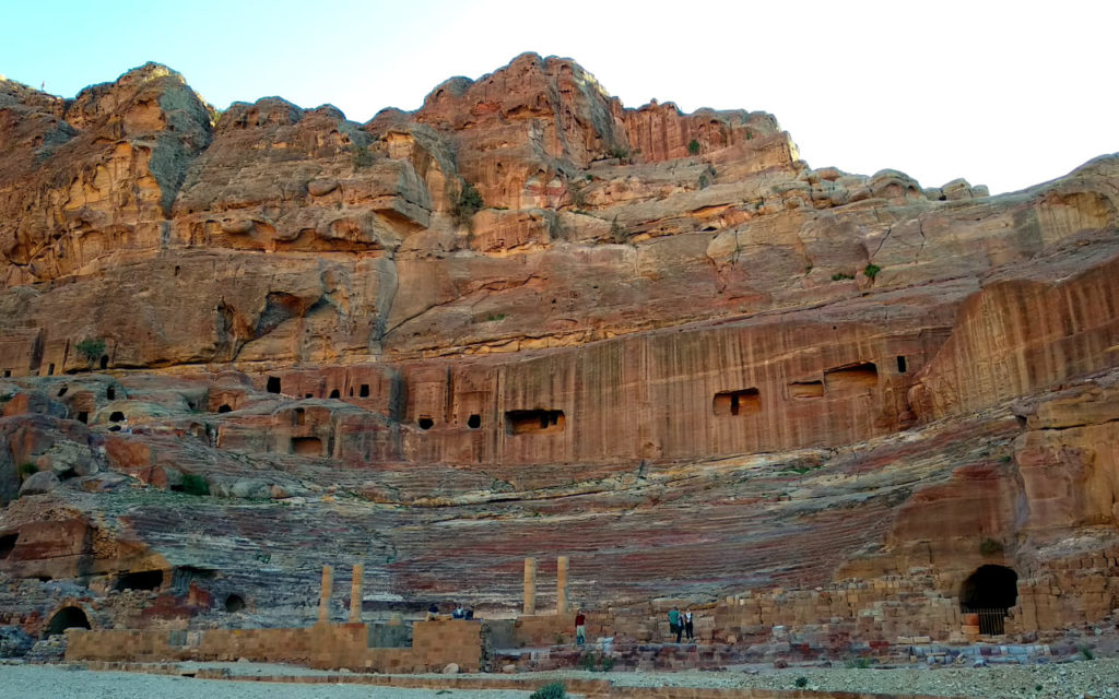 Amphiteater in Petra