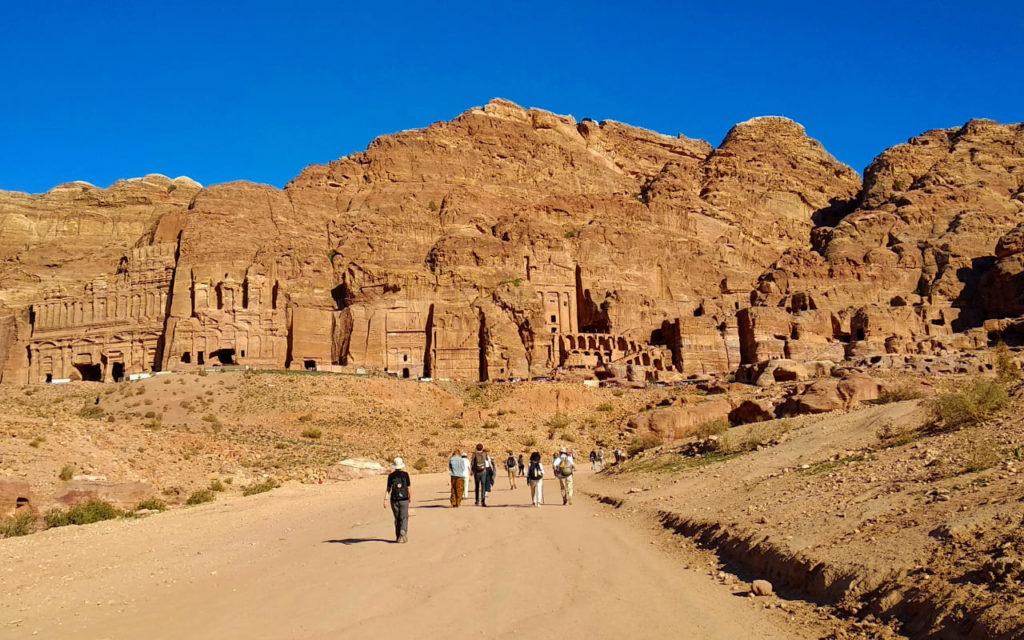 Main Street in Petra