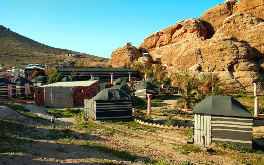 Das Seven Wonders Bedouin Camp bei Petra
