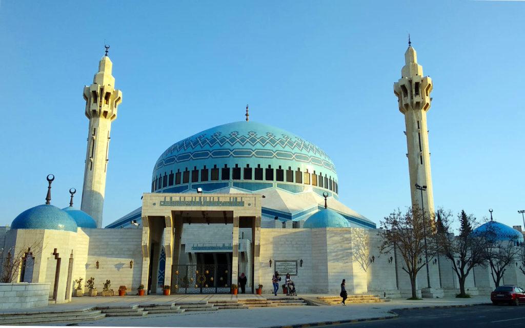 Die Zentralmoschee in Amman