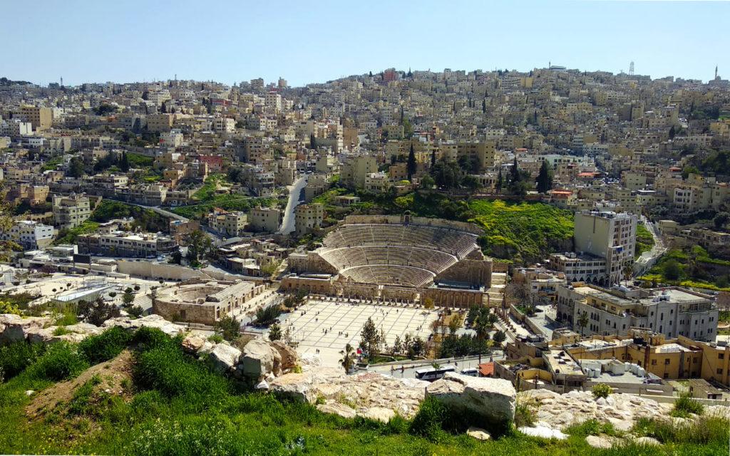 Panoramablick auf Amman