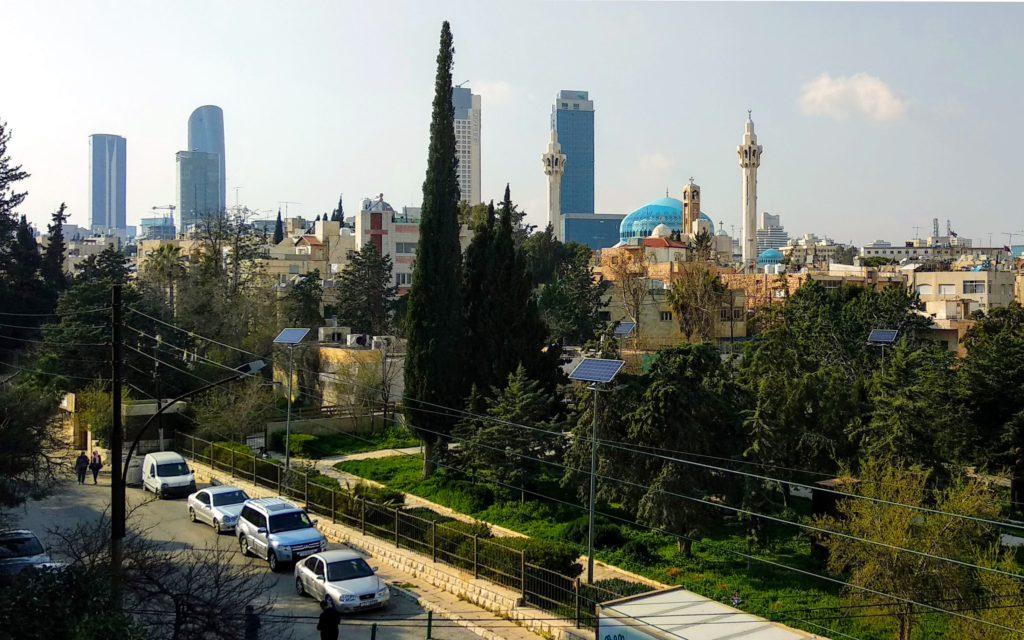 Die Skyline von Amman