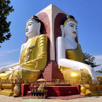 Die 4 Buddhas in Bago